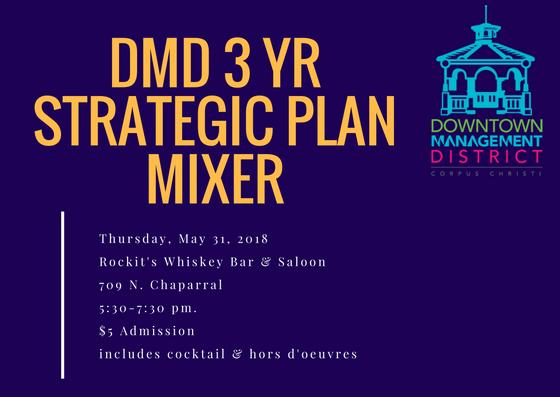 DMD 3 Year Strategic Plan Mixer @ Rockit's Whiskey Bar & Saloon