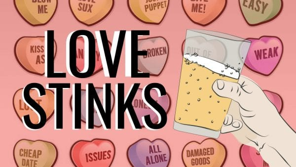 Love Stinks, Let's Drink! @ Executive Surf Club