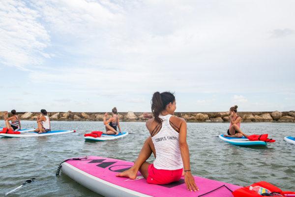SUP Yoga @ Water Dog Floating Yoga