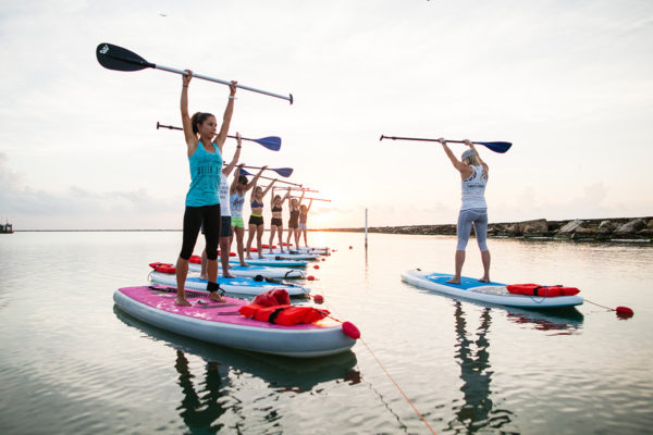 SUP Pilates Fusion @ Water Dog Floating Yoga | Corpus Christi | Texas | United States